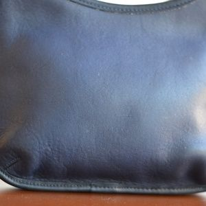 5ad854a514 Coach Bags - Vintage Coach 9020 Navy Ergo Bag Mini Hobo Bag